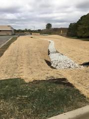 basin for salt runoff