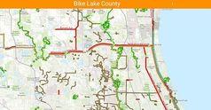 Bike Lake County app