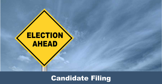 Election Ahead - Candidate Filing