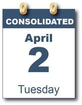 Consolidated Election April 2