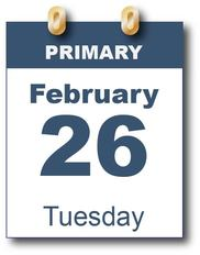 February 26 Primary Election