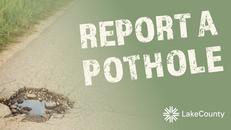 report potholes