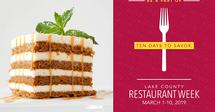 2019 Lake County Restaurant Week