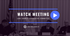 Legislative Committee discussion