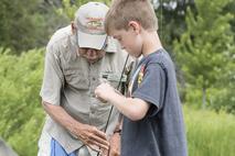 LCFPD fishing volunteers