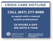 Crisis care hotline effects