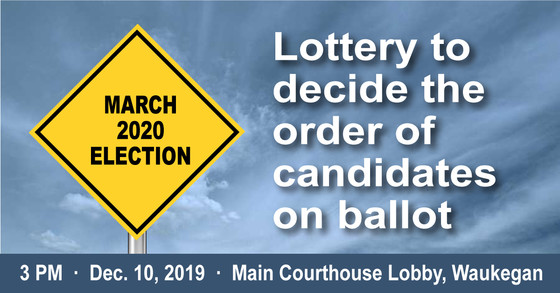 Lottery to decide candidate name order