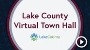 virtual town hall play button