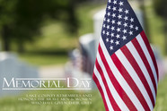 memorial day US flag