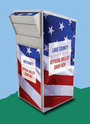 Drop Box for Mailed Ballots