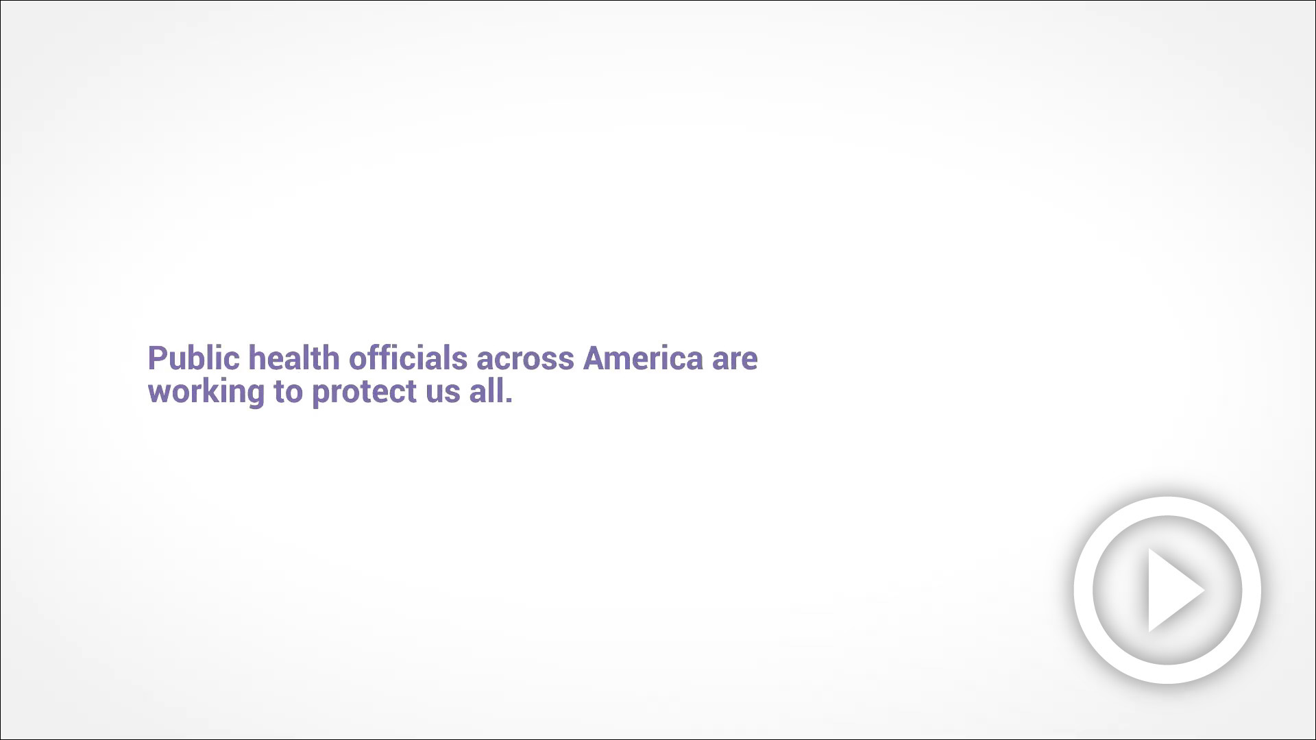 CDC Public Health Heroes Video