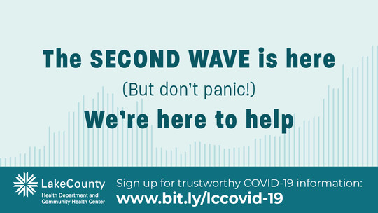 The second wave is here (but don't panic!). We're here to help.