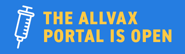 The AllVax Portal is Open