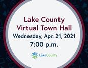 April 21 Town Hall