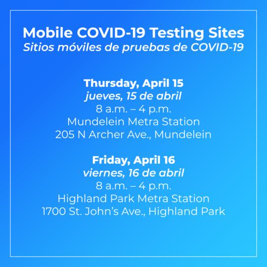 Mobile testing April 9