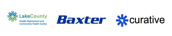LCHD Baxter Curative logos