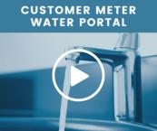 Customer Meter Water Portal