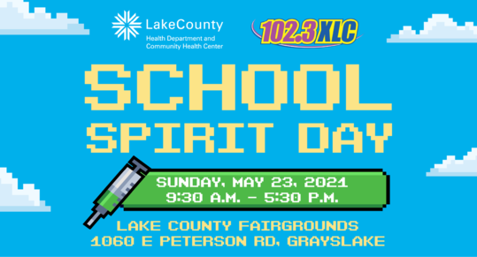 Spirit day banner