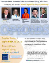 Substance Use and Mental Health Session