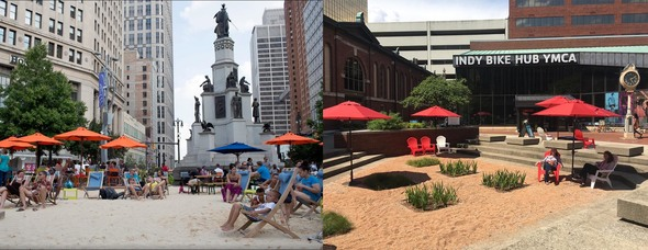 Detroit and Indianapolis beaches