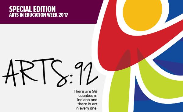 A92 arts ed week banner