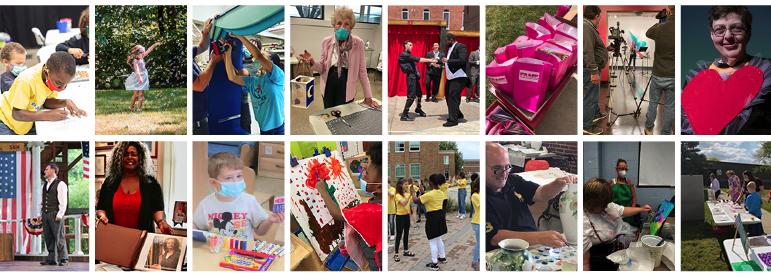 Collage of grant recipients photos