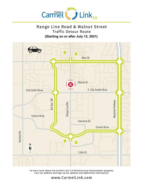 Range Line and Walnut detour