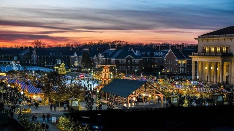 Winter Pavillion at Market