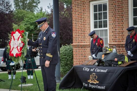 Previous 9-11 ceremony