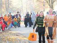 Trick-or-Treating at Indiana Dunes State Park