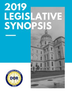 legislative synopsis 2019 cover