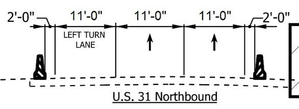 US31 NB phase1