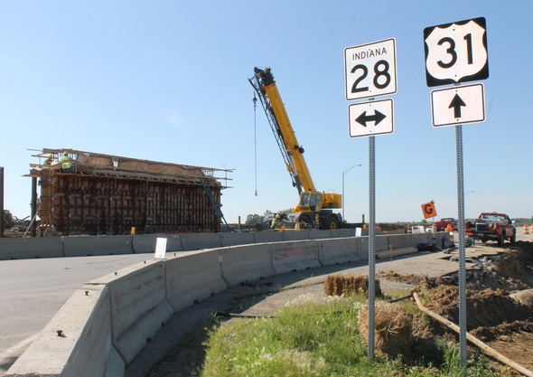 IN 28 closes at #US31Tipton starting Monday