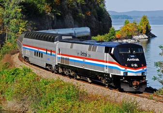 Hoosier State train will include the only dome car in Amtrak service, a Great Dome. Built in 1955 by the Budd Company for the Great Northern Railway,