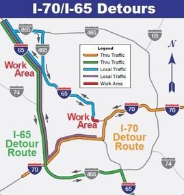I-65 Detours