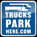 Trucks Park Here logo