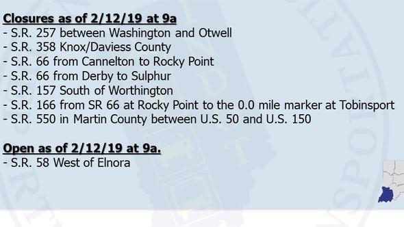 Flooding Corrected 2-12-19