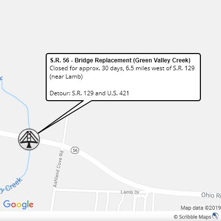 SR 56 Bridge Replacement Switz Co
