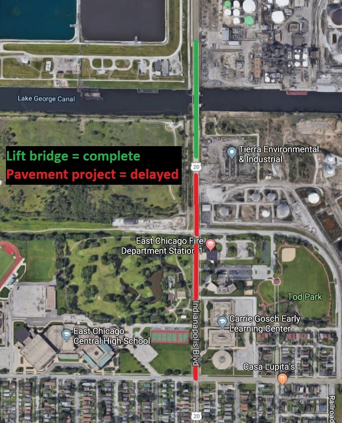 Project update: Indianapolis Boulevard in East Chicago