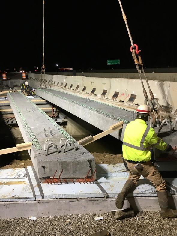 SR 67 Bridge Beam Setting 3-12