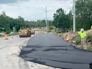 State Road 252 paving near State Road 37