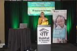Lt. Governor at Habitat Conference