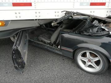 car under trailer 3