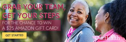 Steps Challenge Banner Promo