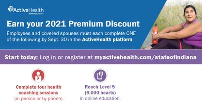 Premium discount 2021 promo
