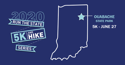 Ouabache state park run the state promo