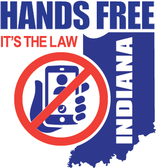 Hands-free law campaign logo