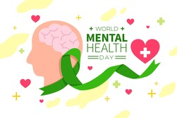 World mental health day image