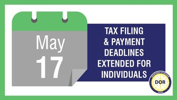Tax filing extended to May 17
