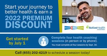 Premium discount health coaching promo